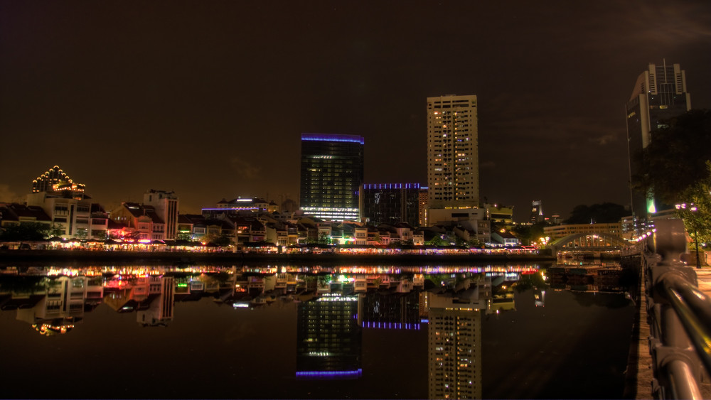 Singapore by Night - Boat Quay II