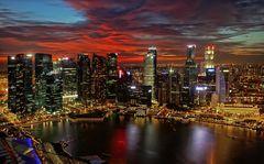 Singapore Marina Bay @ night 2