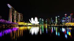 Singapore Marina Bay @ night 3