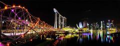 Singapore Marina Bay @ night 4