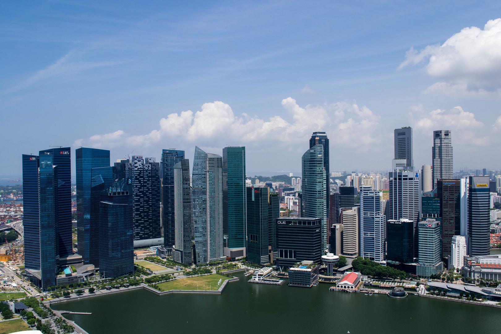 singapore skyline & marina