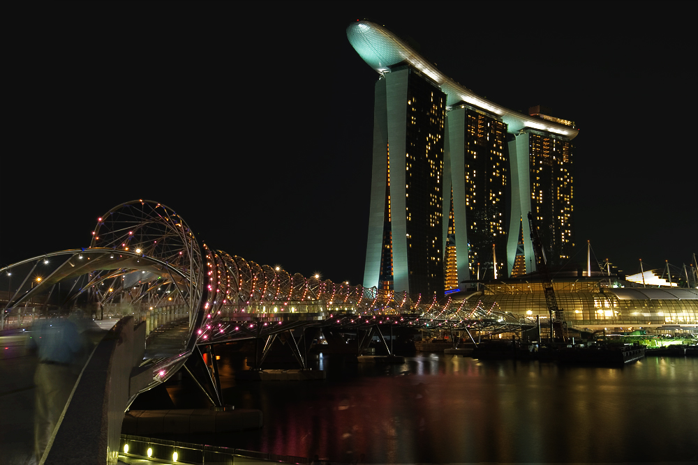 Singapur - Marina Bay Sands...
