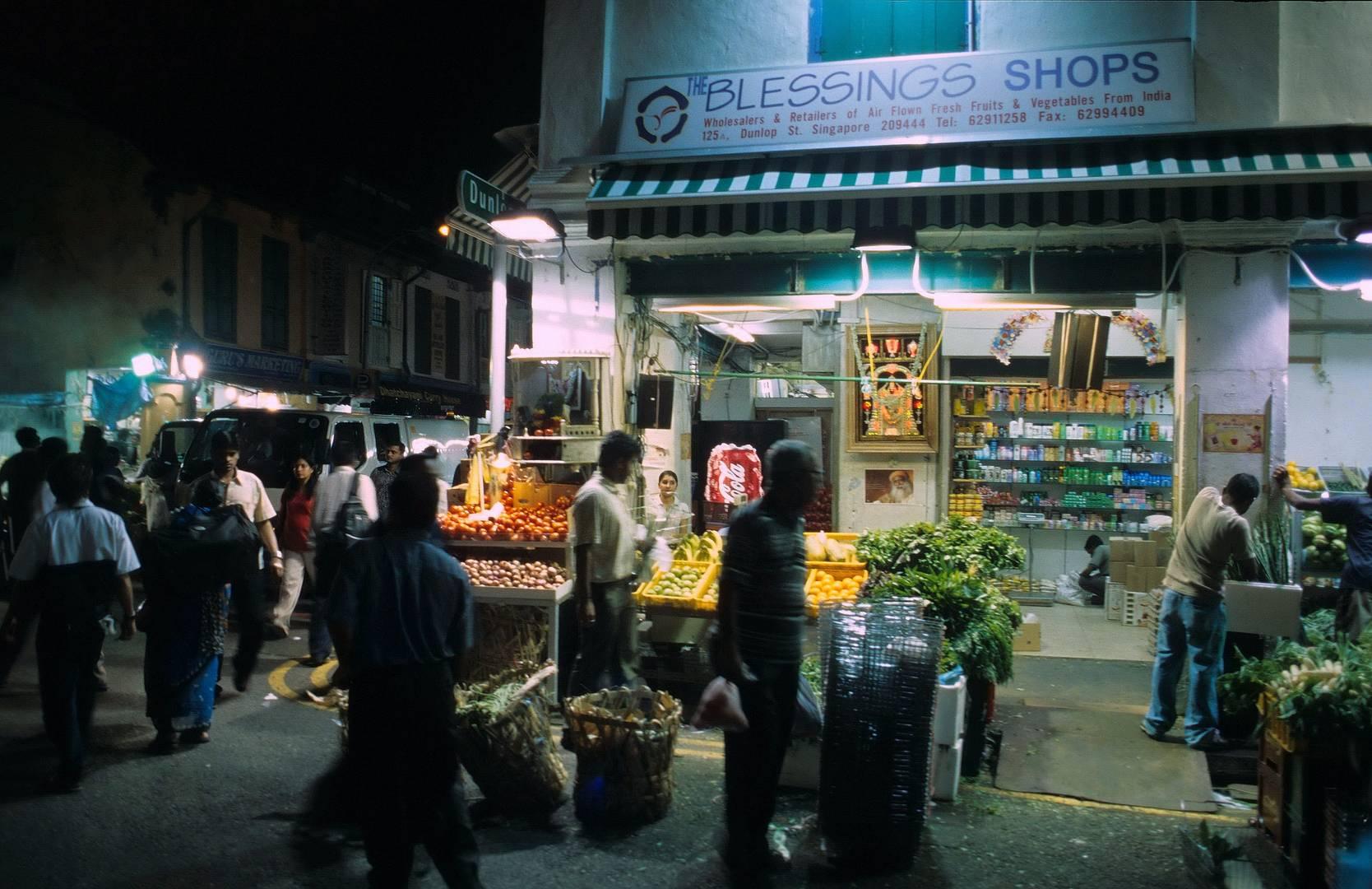 Singapur Nachtmarkt