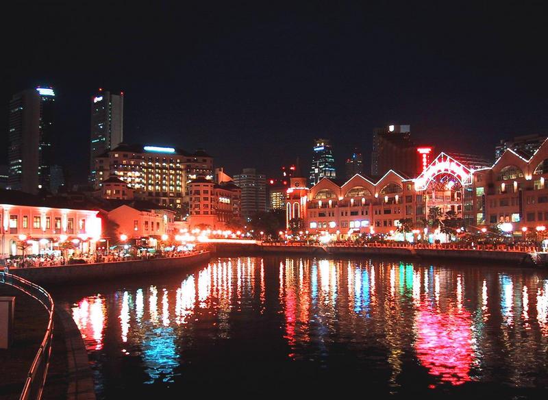 singapur river view