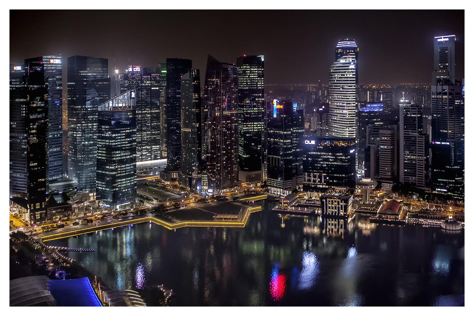 Singarpore at night