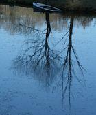 Sinkendes Boot unter dem Baum?