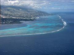 Sinkflug vor Tahiti Nui