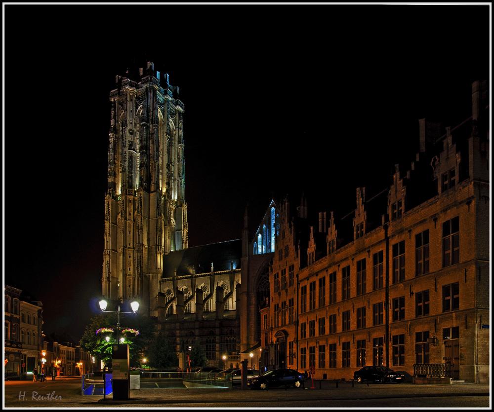 Sint-Rombouts-Kathedraal in Mechelen / Belgien