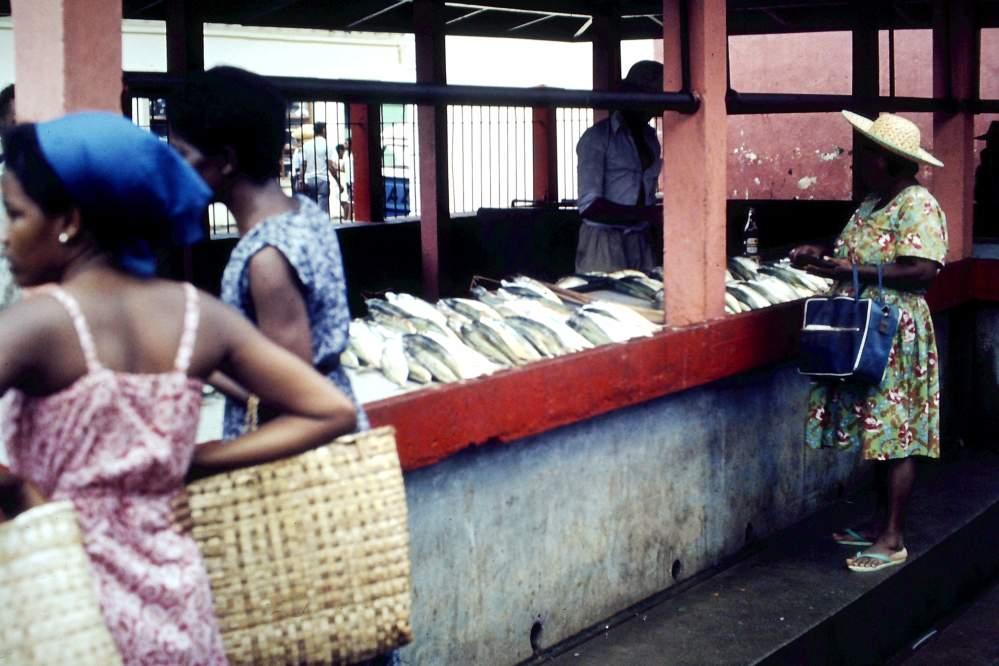 Sir Selwyn Selwyn-Clarke Market, Victoria, Seychellen -1980 II