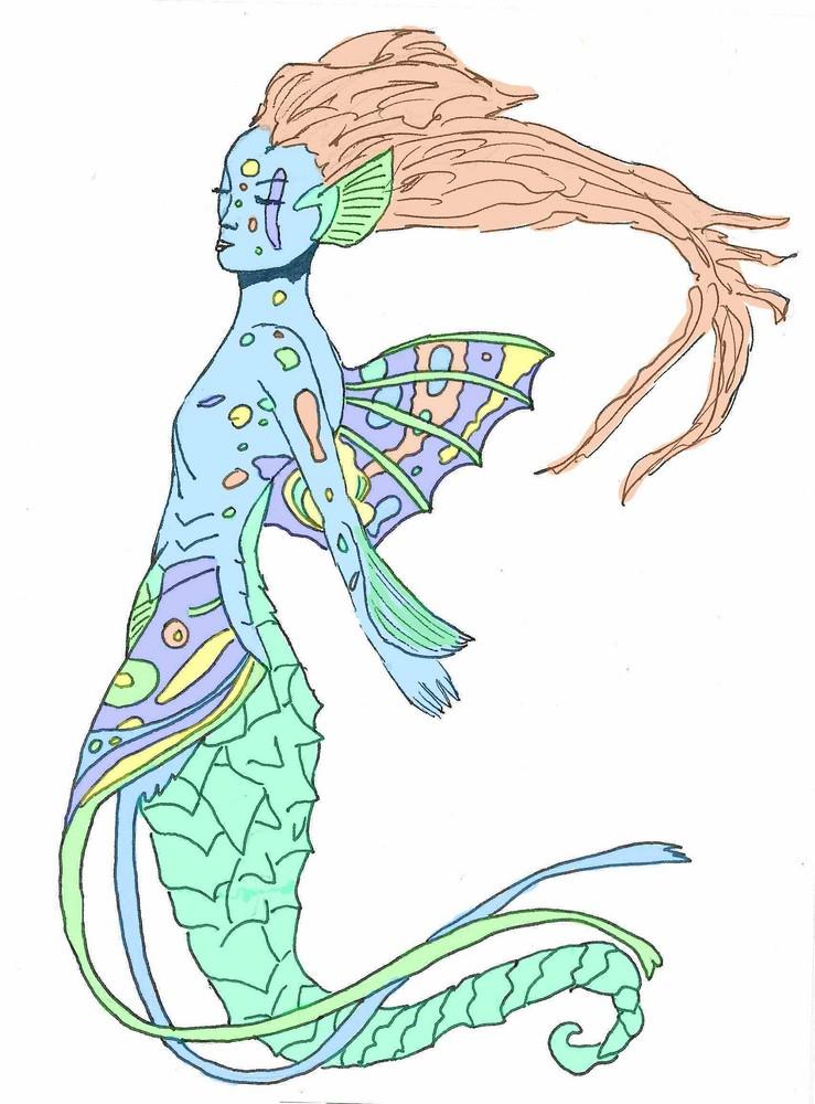 Sirène hippocampe