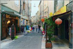 Sisteron, Geschäftsstrasse