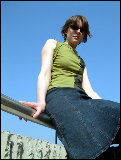 Sitting in the sun 1