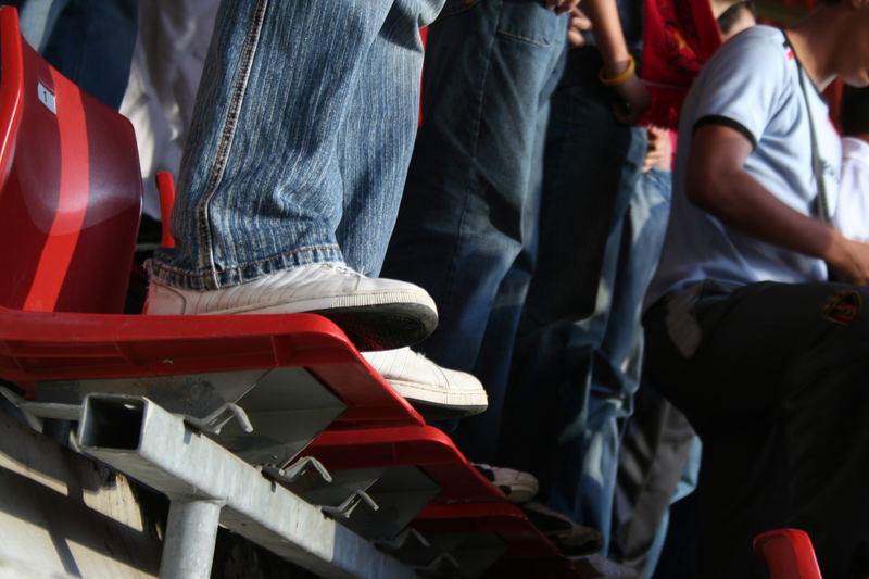 Sitz- oder Stehplatz?