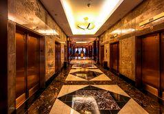 Six Elevator Doors
