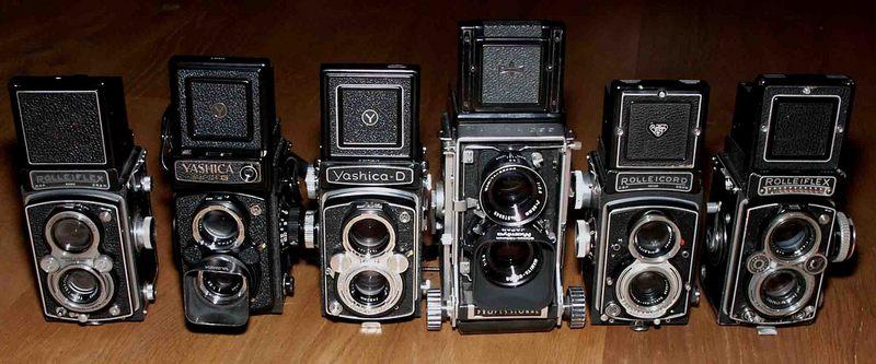 Six Twin Lenses of 6x6