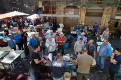 Sizilien - Nr. 16 - Fischmarkt in Catania