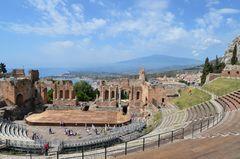 Sizilien - Nr. 27 - Teatro Greco - Taormina