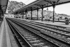Sizilien - Nr.25 - Am Bahnhof Taormina Giardini