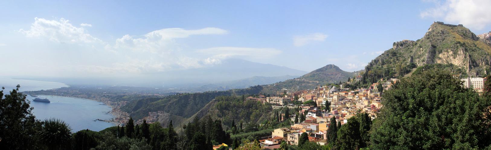 Sizilien - Taormina - Ätna