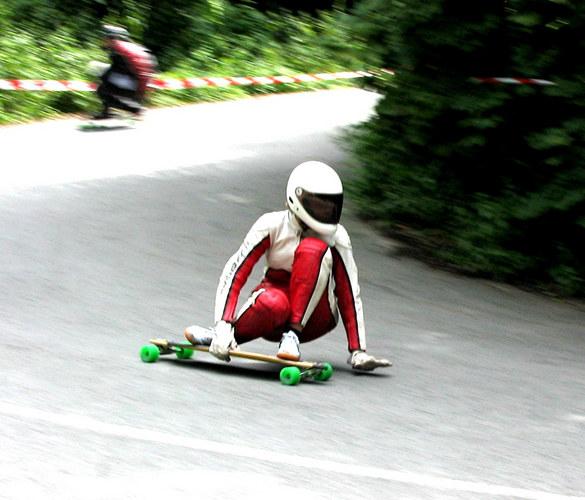 Skateboard Downhill