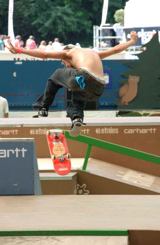 Skateboard EM in Basel