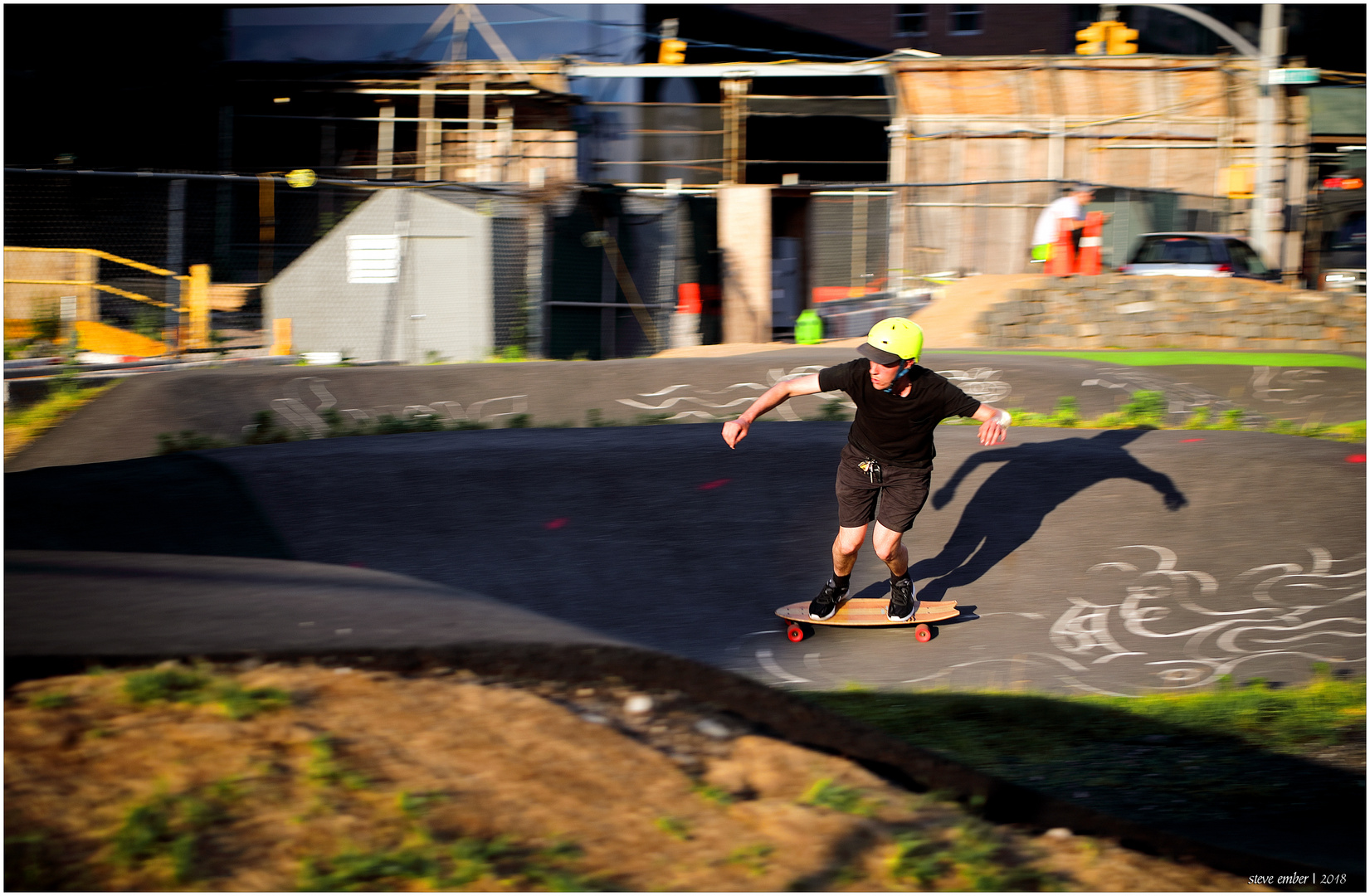 Skateboarder - Brooklyn Bike Park