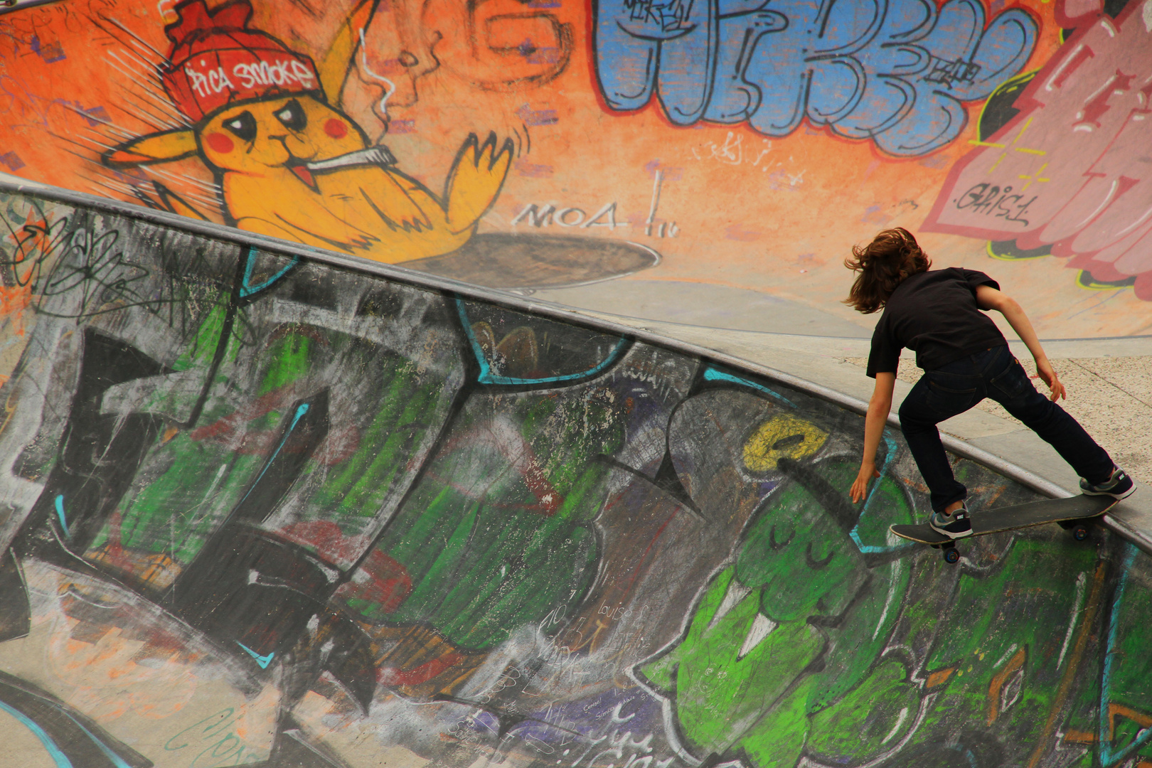 skateboarding in Lyon