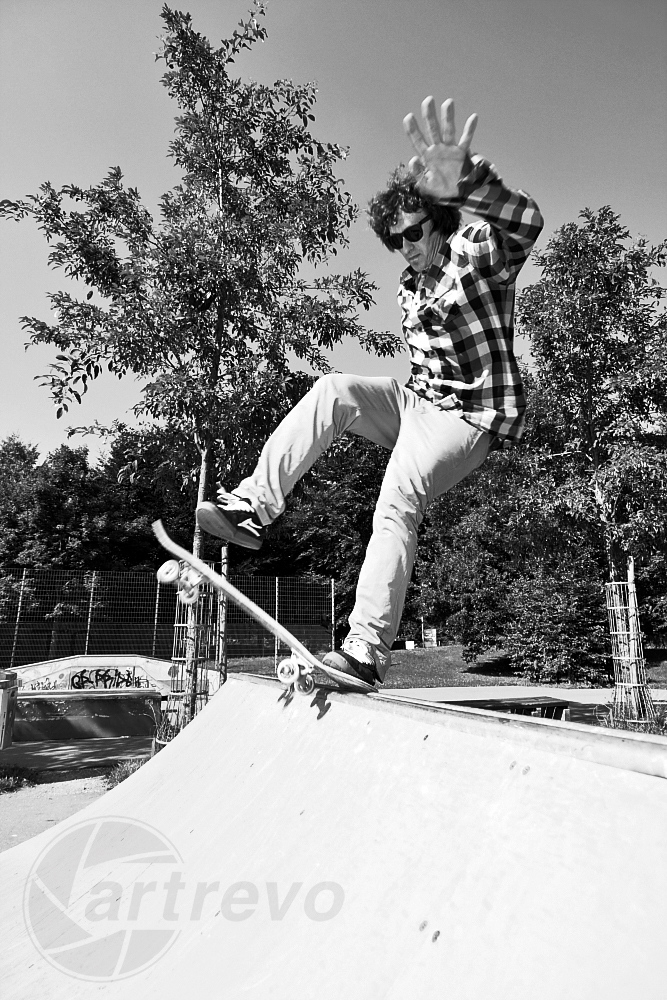 [ Skateboarding is not a crime ]