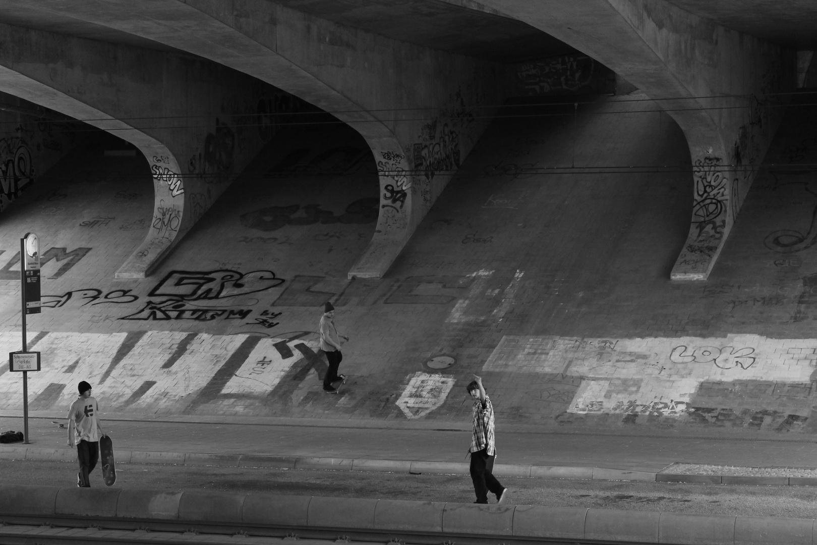 skateboarding underground