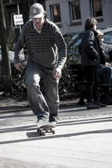 Skater # 2 - Anlauf