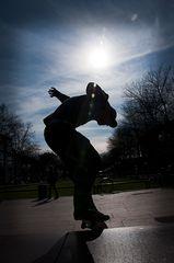 Skater # 2 - Silhouette