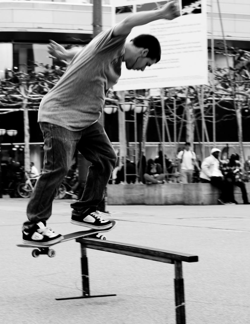 Skater an der Frankfuter Zeil