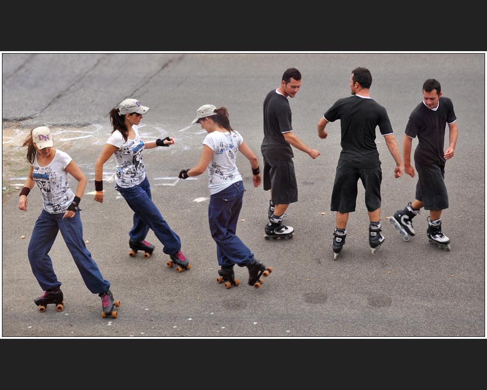 Skater-Ballett
