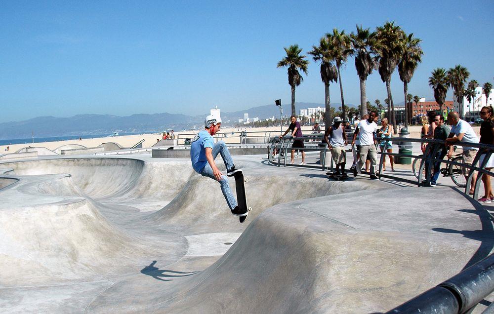 Skater. Venice Beach.