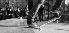 Skater-Zuschauer