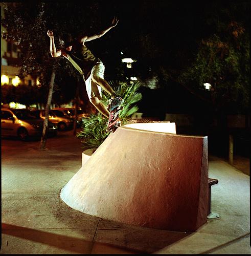 Skating in the night... Ibiza 2005