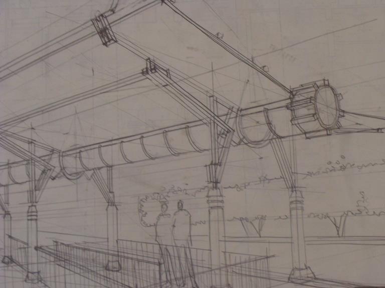 Sketch de un espacio