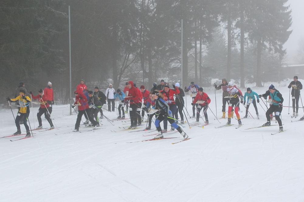 Ski-OL am 01.03.15 in Schmiedefeld
