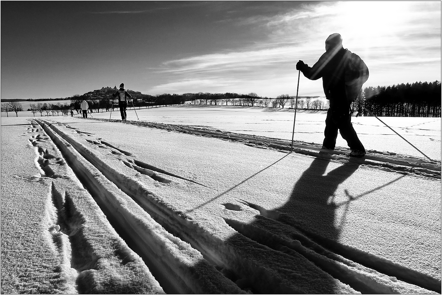 Ski-Wetter...