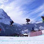 Skicross Worldcup Grindelwald 2011