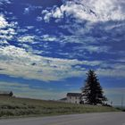 skies of Pennsylvania. USA