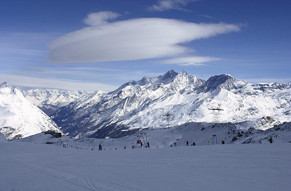 skifahren am theodulgletscher