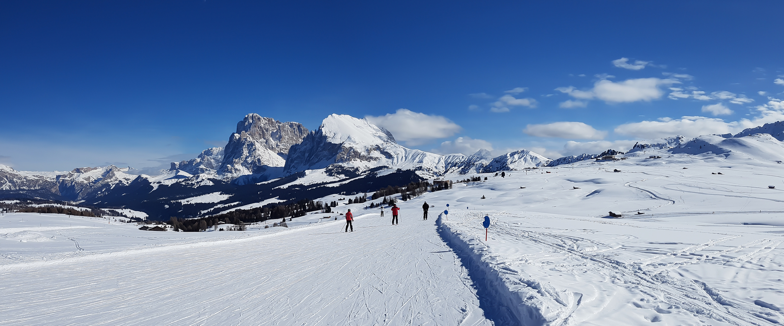 Skifahren auf der Seiseralm