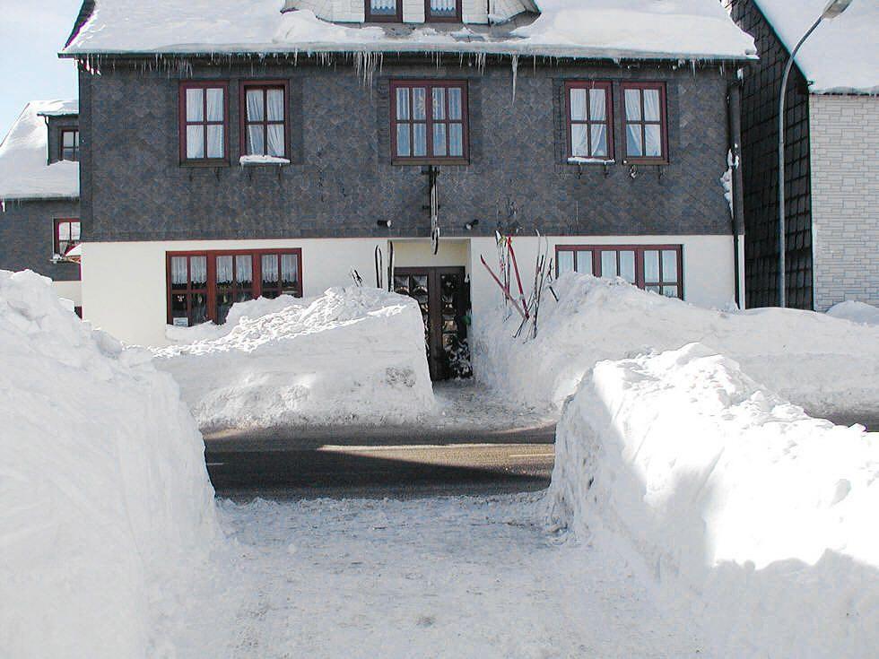 Skifahrer brauchen auch mal eine PAUSE !
