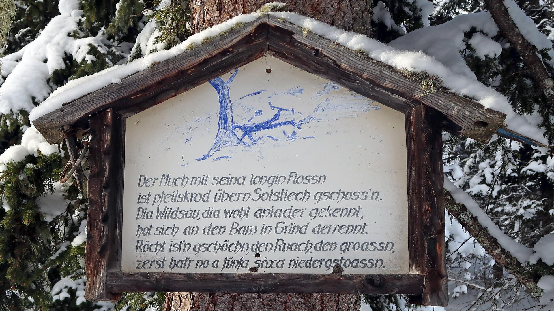 Skifahrer-Schicksal