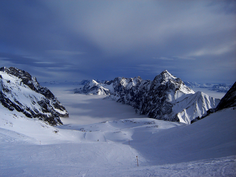 Skigebiet Zugspitzplatt (2962m)