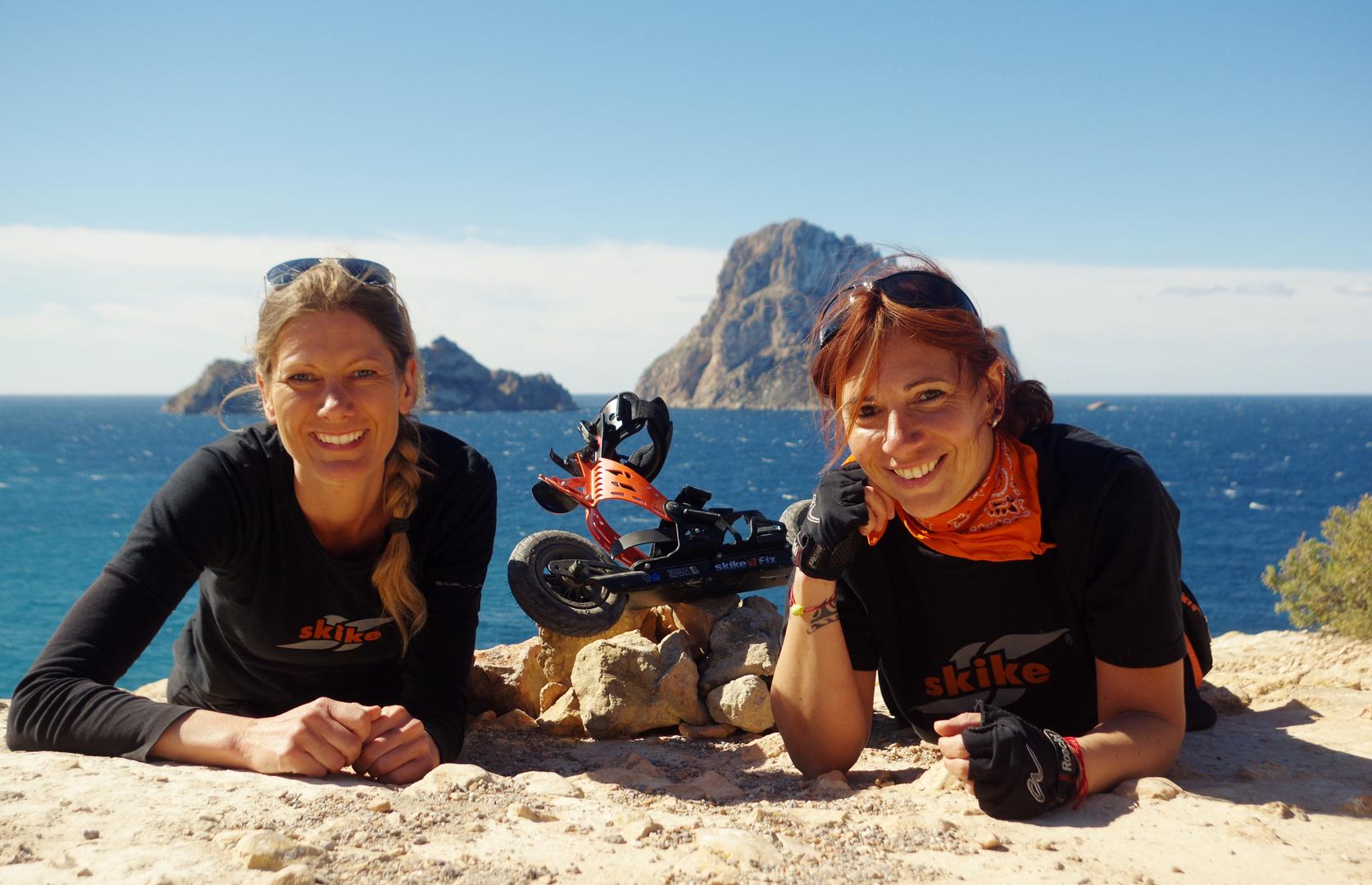 skikes in Ibiza
