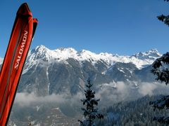 Skilaufen im Montafon