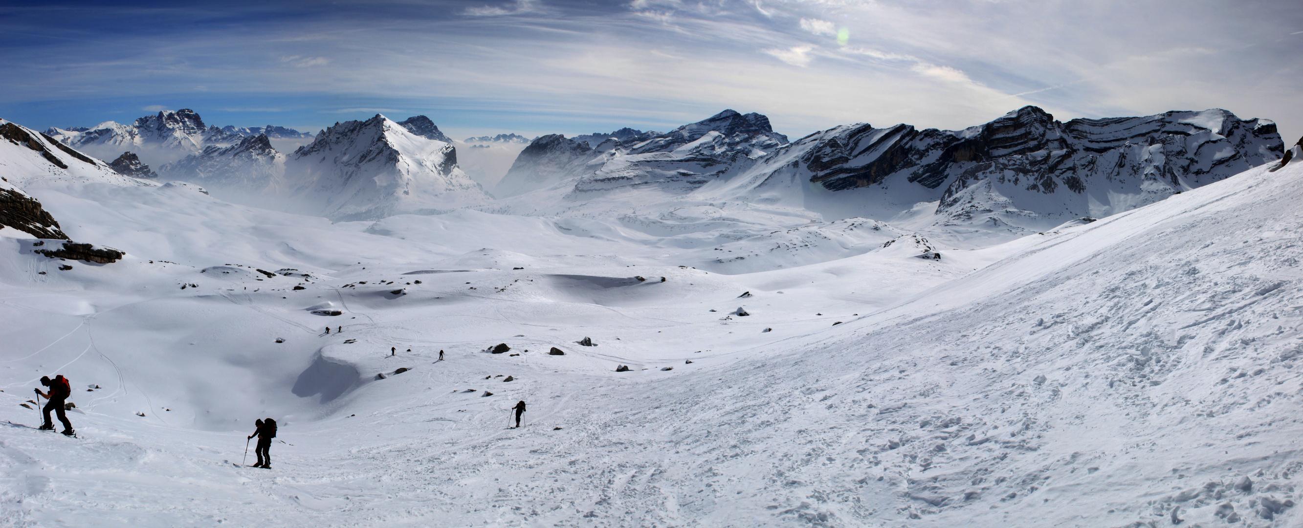 Skitour Fanesgebirge
