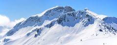 Skitour im Bereich der Sulzspitze - im Thannheimer Tal